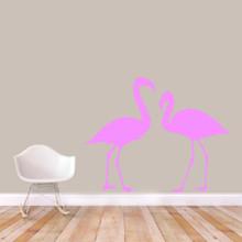 Flamingos Wall Decals Large Sample Image