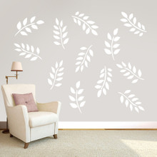 Leafy Branches Pack Wall Decals Large Sample Image