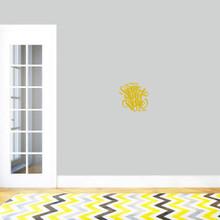 "Custom Home Sweet Home Wall Decal 12"" wide x 12"" tall Sample Image"