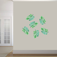 Tropical Branches Printed Wall Decals