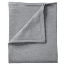 Seneca East Paw Print Fleece Sweatshirt Blanket