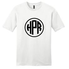 White Circle Monogram T-Shirt