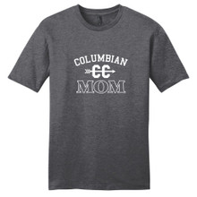 Heathered Charcoal Custom Cross Country Mom T-Shirt