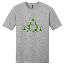 Light Heathered Gray Ohio Irish Claddagh T-Shirt