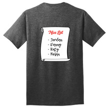 Custom Nice List T-Shirt