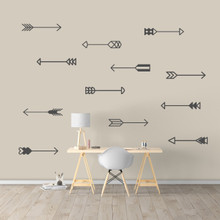 Arrows Set Wall Decals Large Sample Image