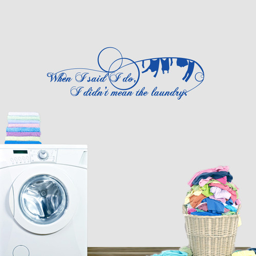 Wall Decals For Bathroom & Laundry Room | Sweetums Wall Decals