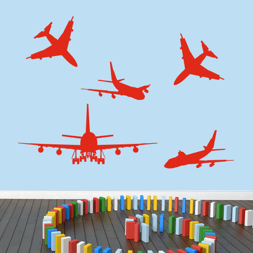 Airplanes wall decals wall art wall murals for Airplane wall mural
