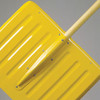 Bent-Handle Heavy-Duty Aluminum Snow Shovel