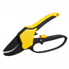 Ratcheting Action Anvil Pruner with Finger Guard