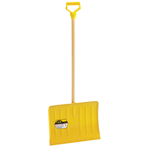Heavy-Duty Aluminum Snow Shovel