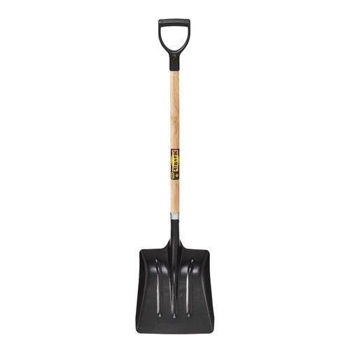 "Steel Street Shovel, 40"" handle, poly D"