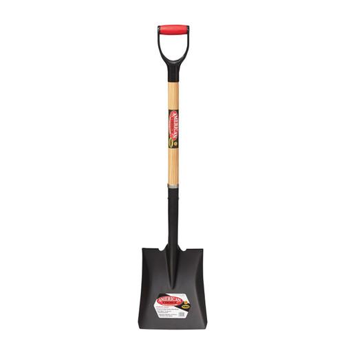 """Square Point Shovel, 32"""" D-handle"""
