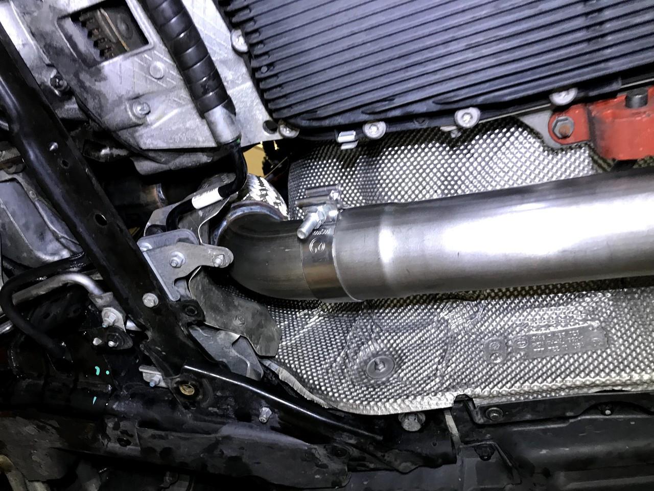 "Buzzken - BMW X5D DPF and SCR cat delete - 3"""