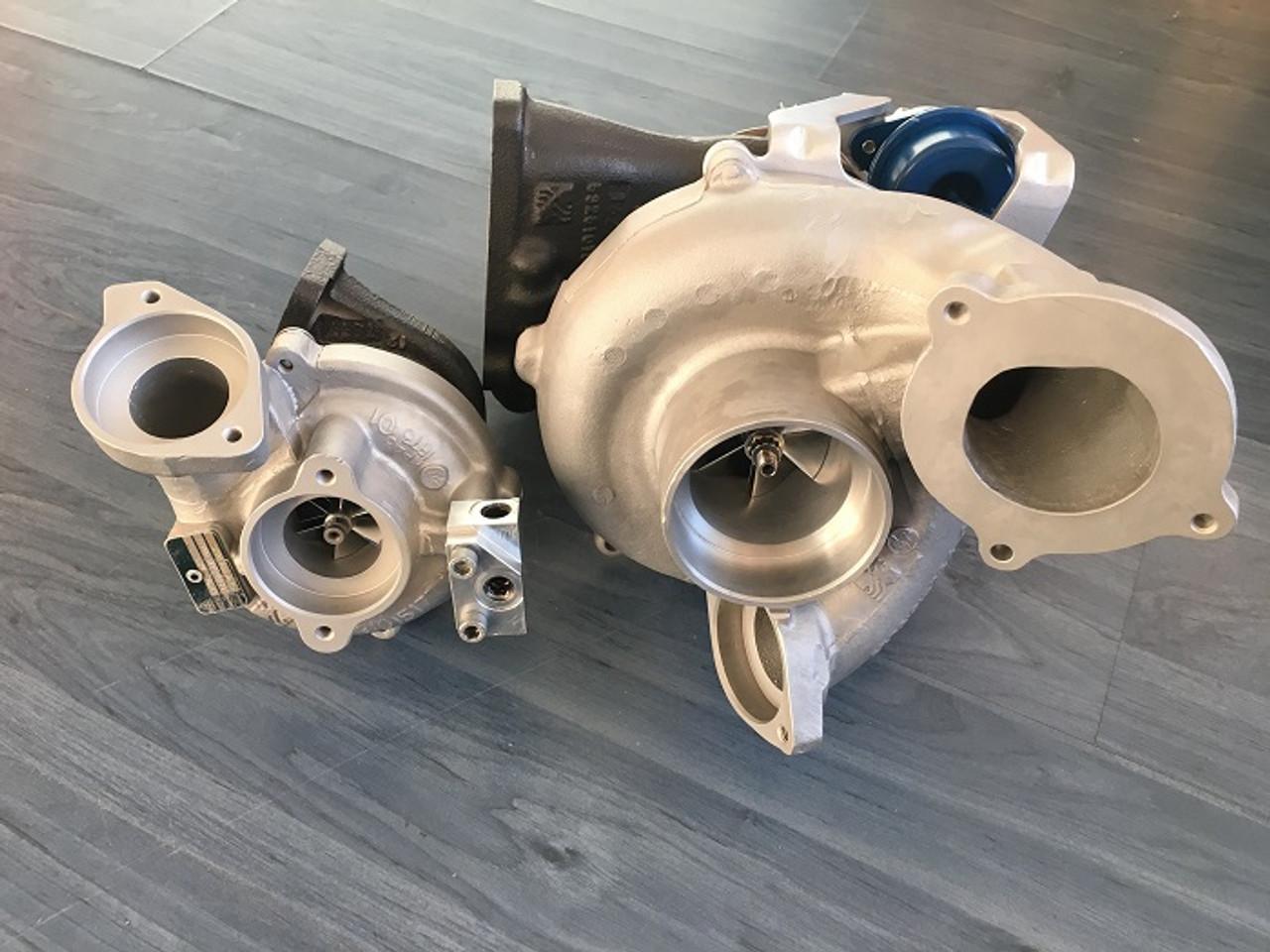 BMW 335D and X5 35D - Hybrid Turbo Kit - JR AutoTuning Performance