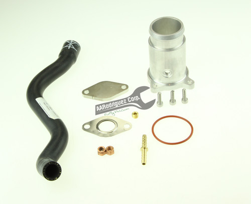 Billet Aluminum Race Pipe w/ Boost Tap for ALH