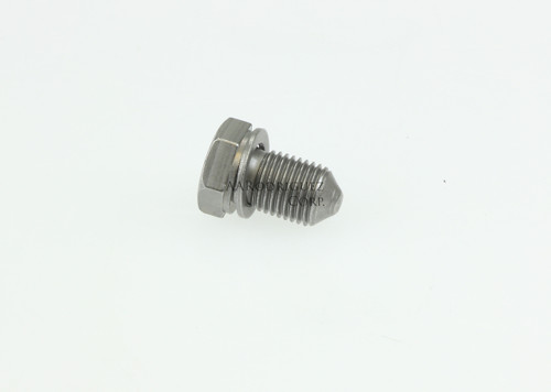 Oil Drain Plug With Washer