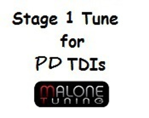 Malone Stage 1 Tune for PD TDI Engines