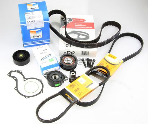 MK3 & B4 Deluxe Timing Belt Kit '96-98 TDI -  1Z AHU TDI 60k Rating