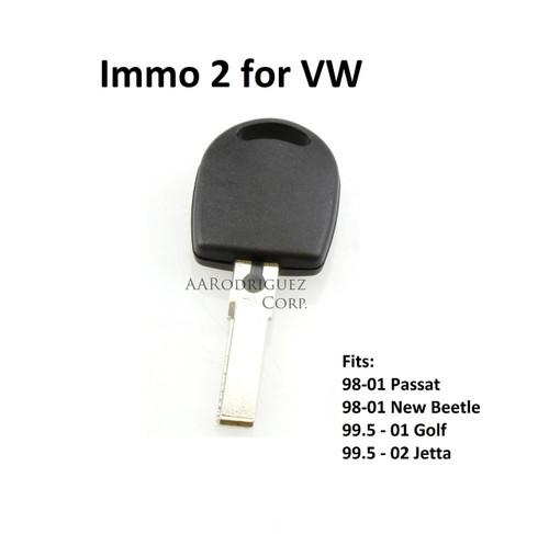 Valet Key - Immo 2 for VW-Waterproof!