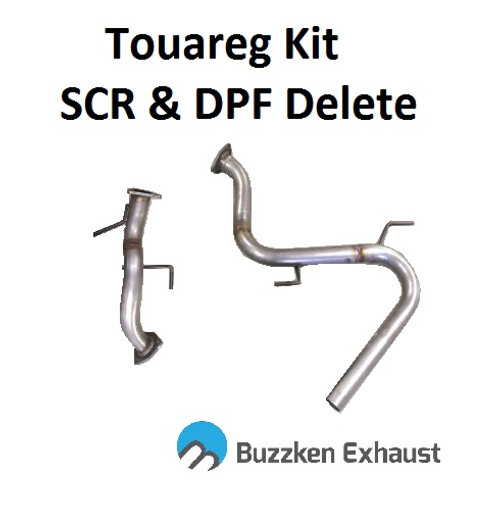 VW 3.0L CR TDI Touareg & Q7 DPF and SCR Delete Kit by BuzzKen