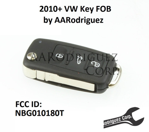 2010-2014 Key FOB - FCC ID NBG010180T - Cutting available, program at home