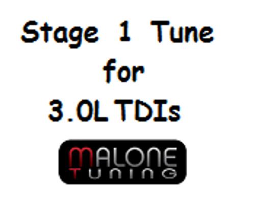 Malone Tuning - Stage 1 Tune 3.0L V6 TDI