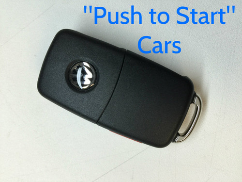 "Genuine VW Key for cars with ""Push to Start"" - 561-837-202-D-INF"
