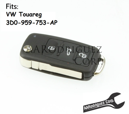Genuine VW Touareg Key FOB - 3D0-959-753-AP-ROH