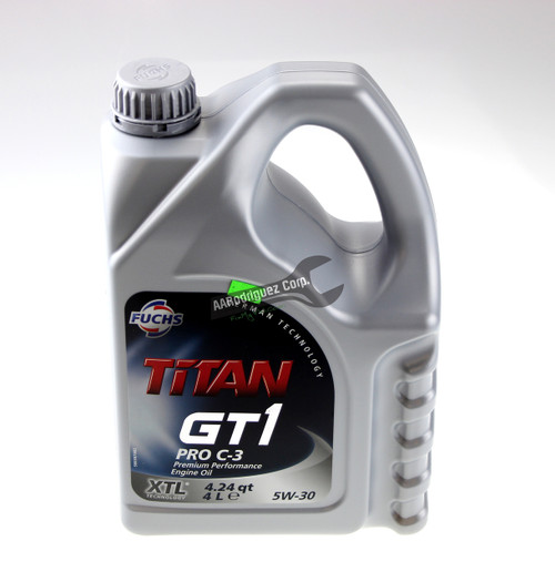 504.00 / 507.00 Motor Oil for CR TDI - Titan Pro-C3 5w30 - 4 Liter - Fuchs
