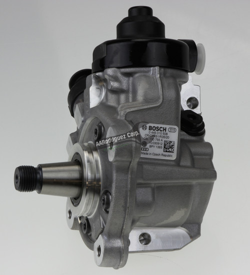 VW CR TDI High Pressure Fuel Pump (NEW) - HPFP Bosch - 03L130851A / 03L130755A