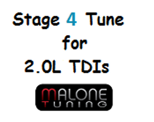 Malone CR TDI - Stage 4 Tune - Golf/Jetta/New Beetle/Passat