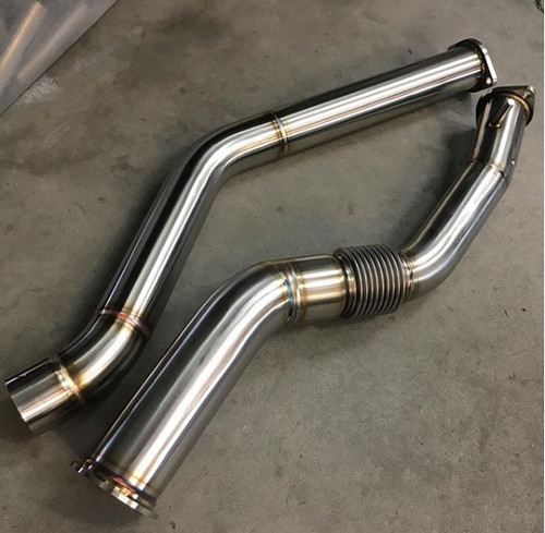Unobtainium - BMW X5 35D Downpipe Kit for DPF and SCR Delete - 3.5""