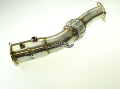 BMW 335D Downpipe Kit - 304 Stainless Steel (PL-BMW501) - 5