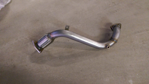 VW 3.0L CR TDI Touareg & Q7 Downpipe Kit by BuzzKen (2009-2012)