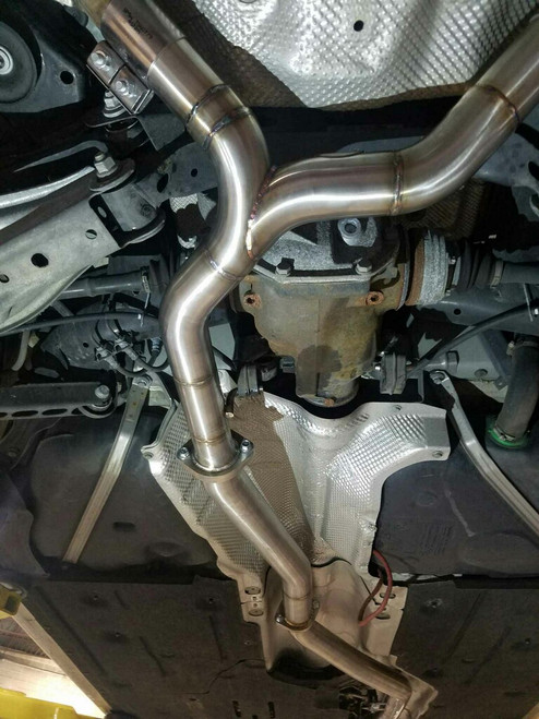 SCR DELETE KIT - BMW 335D - P&L Exhaust