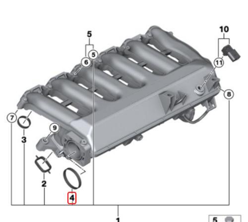 Intake Manifold Gasket 11612245439
