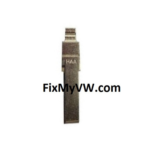 MK7 Key FOB Blank - HAA/YCR