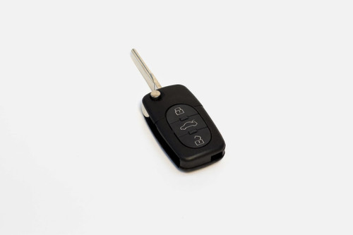 Rounded Button Key FOB For 1998-2001 VW Beetle and Passat and 1999.5-2001 VW Golf, Jetta