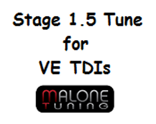 Malone Stage 1.5 tune for VE TDI Engines