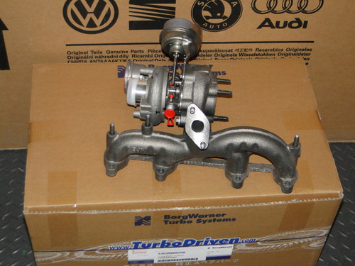 VW MK4 ALH TDI Borg Warner Turbo - VNT17 Turbocharger - BV39