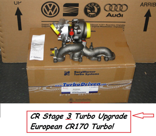 Borg Warner CR170 Stage 3 Turbo for MK5 & MK6 TDI - 03L253016G