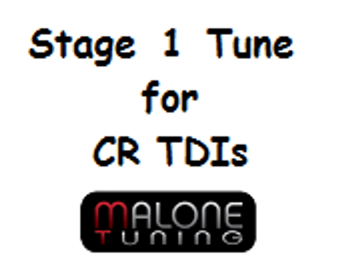 Malone CR TDI - Stage 1 Tune - Golf/Jetta/New Beetle/Passat