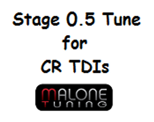 Malone CR TDI Tune - Stage 0.5 - Golf/Jetta/New Beetle/Passat