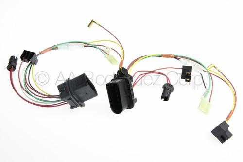 (2) VW Golf or GTI Headlight with Fog Lights Wiring Harness