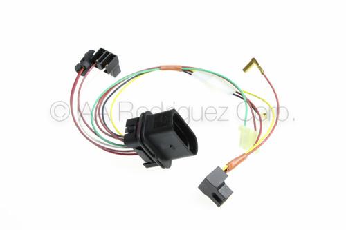 (1) VW Golf or GTI Headlight with Fog Lights Wiring Harness