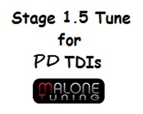 Malone Stage 1.5 Tune for PD TDI Engines