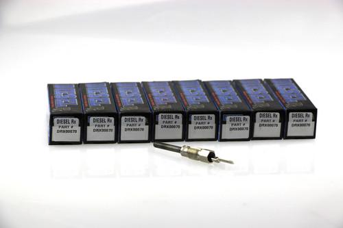 1984-1988 6.2 MILITARY CUCV 24 VOLT GLOW PLUG SET (8X DRX00070) -6