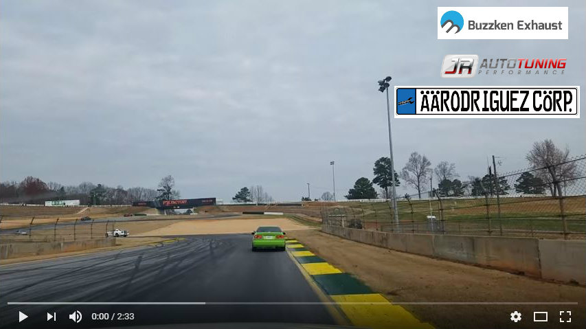 Racing at Road Atlanta with our BMW 328D