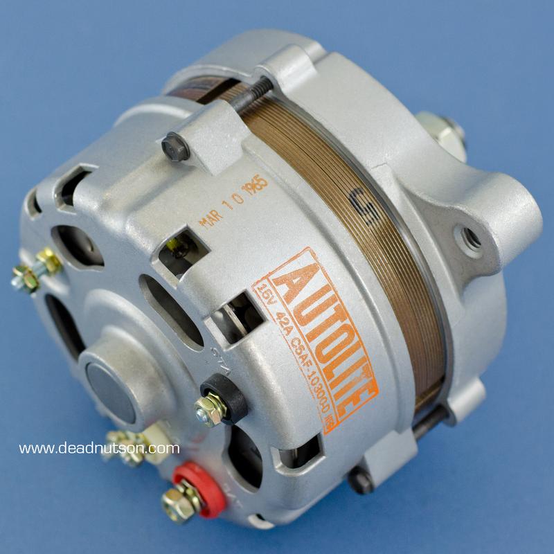 1965 289 Hipo Autolite Alternator C5AF-10300-D